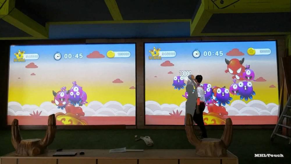 投影触摸框互动投影游乐厅交互投影娱乐游戏