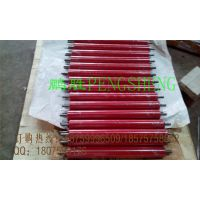 厂家直销装轴承胶辊 聚氨酯红色高耐磨橡胶辊 不锈钢管包胶滚筒