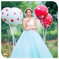 商场橱窗气球美陈陈列道具 婚庆开业典礼气球装饰布置 酒吧气氛气球道具布置