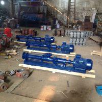 调速螺杆泵生产厂家 G40-2 5.5KW 防爆螺杆泵流量扬程 江苏众度泵业