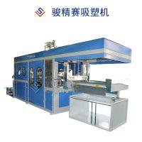 可定制裁切功能 PE热塑性材料吸塑成型设备 自动化吸塑成型机 免费教学