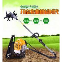 家用打草机型号 小型农用收割机 背负式汽油割草机