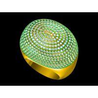 定制304L不锈钢钛磁能男戒指 批发 戒指编制—石英饰品定做厂家