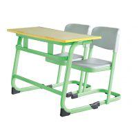 双人学校培训椅 ,双人课桌椅,型号KXY-3578,学习活动桌,厂简约现代金属好椅达台