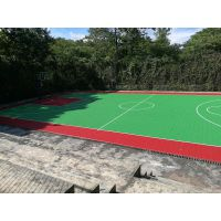 """重庆篮球场悬浮式拼装地板,石家庄""""英利奥""""牌YLO-23874型PP地板"""