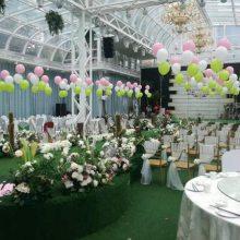 洛阳西工婚庆气球 洛龙婚房气球装饰 涧西婚礼气球布置图