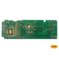 厂家定制四层沉金阻抗半孔控制板 加工pcb线路板智能控制板