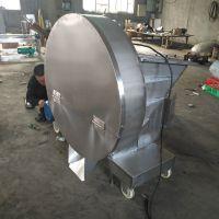 全自动刨肉机 冷冻肉刨肉片机厂家 鸡皮鸭皮冷冻肉盘爆碎设备