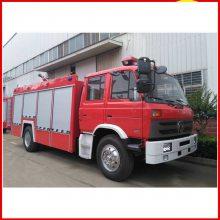 重汽豪沃8吨泡沫消防车适用加油站化工厂灭火