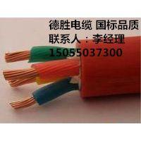 德胜KGGP铜芯硅橡胶绝缘护套编织屏蔽控制电缆3*50mm2抢手的