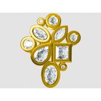 定制重金属铜镀银吊坠项链 吊坠挂件—金属首饰加工厂家