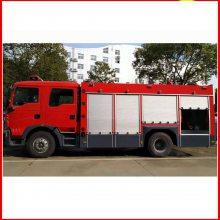 国五豪沃8吨水罐消防车厂家地址