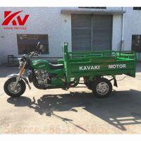 三轮摩托汽车绿色1.2m * 1.8m迷你卡车150cc货运特约正三轮摩托车