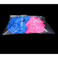 pvc拉链袋采购价格 透明新料pvc服装袋