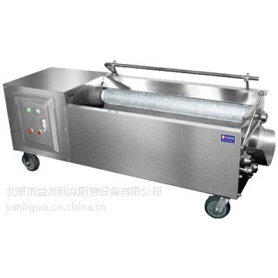 供应北京益友中央厨房设备-自动根茎洗菜机(YY-1800)