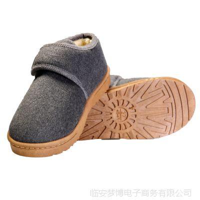 冬季保暖加绒男棉鞋 手工棉鞋 男士棉鞋 女棉鞋新款 男棉鞋 冬季