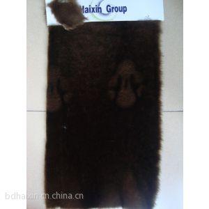 海欣毛绒厂家供应800g3D水貂毛长毛绒面料