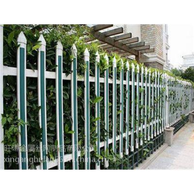 湖北PVC围墙护栏 PVC塑钢护栏 围墙锌钢护栏网厂家