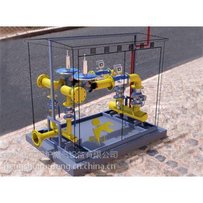 永泰润丰锅炉专用燃气调压计量撬实验煤改气完美使用节省资源