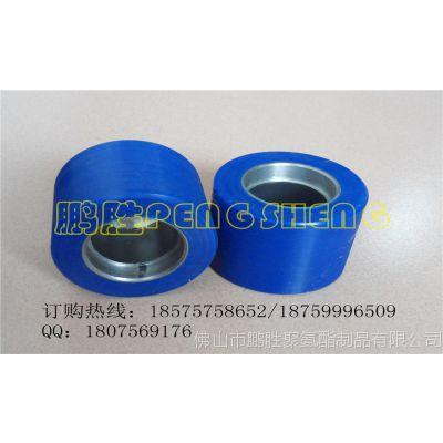 贴膜机聚氨酯耐磨包胶滚筒 铝型材滚筒胶辊PU 耐磨耐压不脱胶