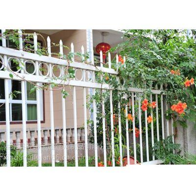 河北旺谦定制厂区围墙锌钢护栏 草坪锌钢护栏 电力锌钢围栏