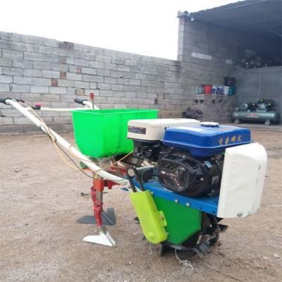 谷子两行覆膜播种机 可以更换模具的播种机润众