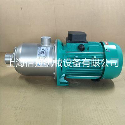 威乐循环泵MHI804DM家用热水增压泵地源热泵上海倍拉现货供应