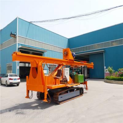 履带式CFG长螺旋工程钻机 20米履带式大型打桩机厂家直销