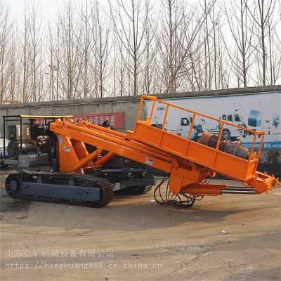 供应地基边坡支护锚固钻机 油电两用锚杆支护钻机 支护钻机价格