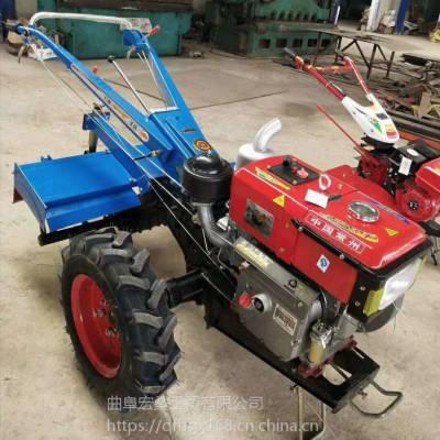 农用免摇电启动手扶拖拉机单缸多功能汽油旋耕机