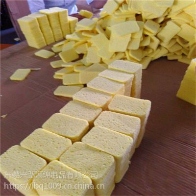 压缩木浆棉 纯天然木浆纤维洗碗海绵 吸水保湿棉 擦玻璃绵