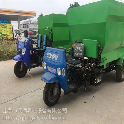 新一代河北猪场饲料自动喂料撒料车 澜海 电瓶式喂料车 方便实用
