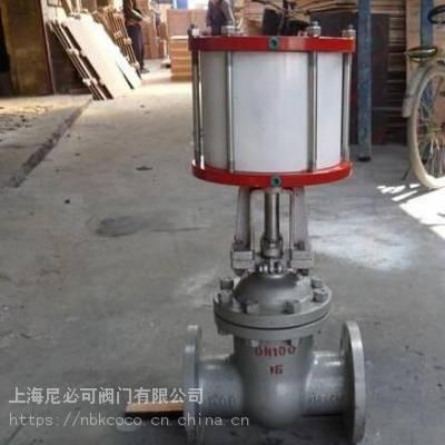 上海尼必可Z641H-16C气动闸阀