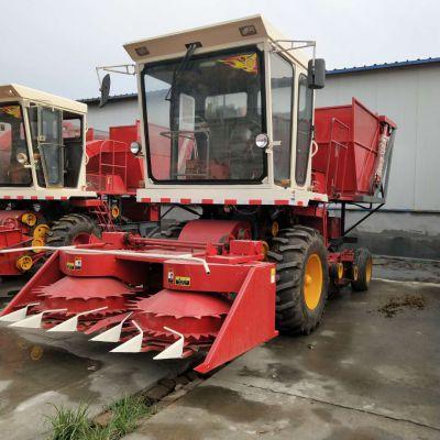 现货供应自走式大型玉米秸秆收割机 青贮饲料机 圆盘式青储机