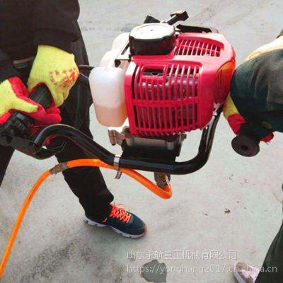 永航快速取芯 二四冲程汽油 背包式轻便取样钻机