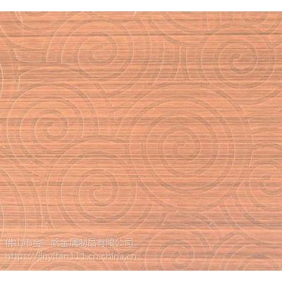 佛山金一帆不锈钢表面拉丝处理 不锈钢红古铜拉丝板效果图