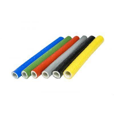 供应安徽鑫茂硅树脂玻璃纤维套管/自熄管/玻纤管