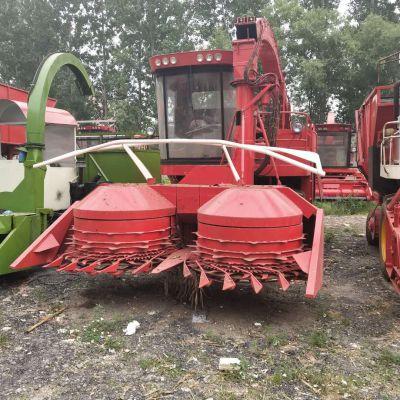 厂家供应新款圆盘式青储机 自走式青储饲料收割机 玉米秸秆粉碎回收机