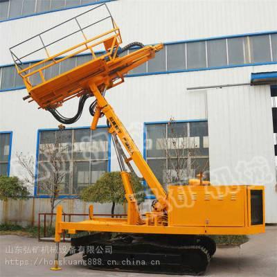 专业生产隧道锚固钻机 6米支护锚固钻机 基坑土钉支护钻机