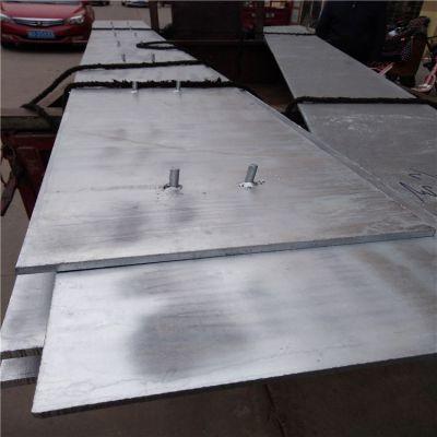 热轧碳钢板 Q235加工焊接 挡砟钢板 铁路有砟轨道专用钢板