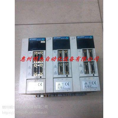 惠州三菱伺服器报警AL10维修