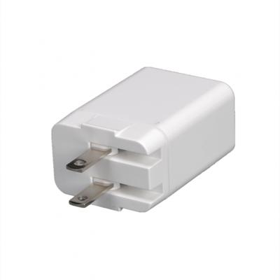 RISUNIC 18W type-c PD充电器QC2.0手机快速充电器厂家直销